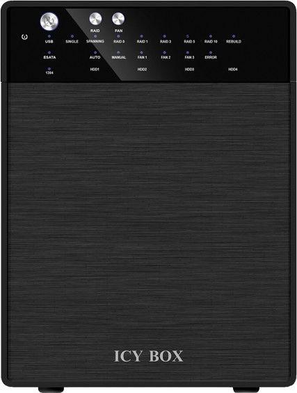 """ICY BOX 4 bay RAID System for 3.5"""" USB 3.0 / eSATA"""
