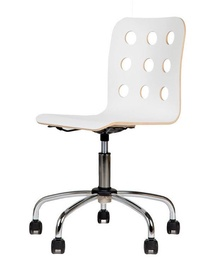 Black Red White Cantona GTS Chair White