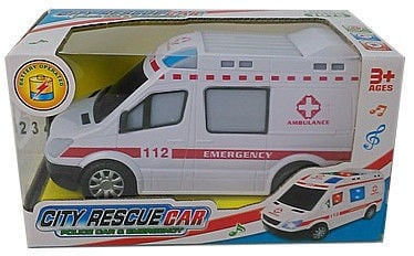 Tommy Toys City Rescue Car 408883