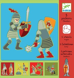 Djeco Stencils Knights