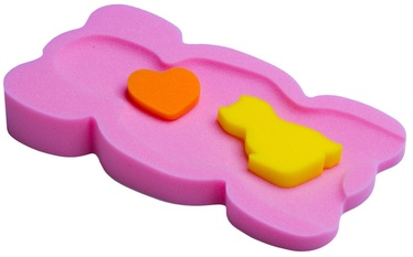 BabyOno Baby Bath Pads Elephant Midi Pink