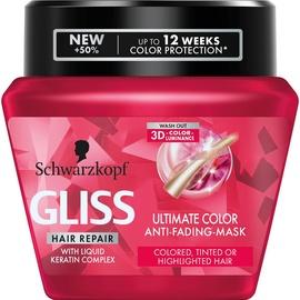 Kaukė plaukams Schwarzkopf Gliss Kur Ultimate Color, 300 ml