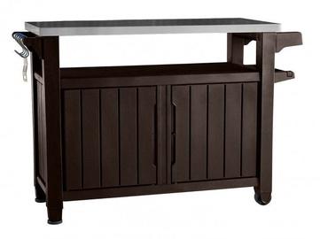 Keter Barbecue Table Prep n' Serve 207L Brown