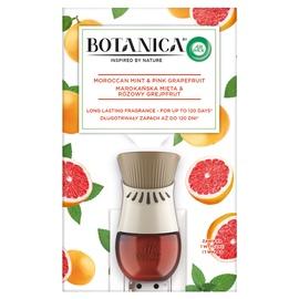 Elektriline õhuvärskendaja komplekt AirWick Botanica Mint & Grapefruit 19ml