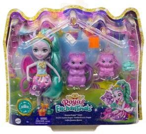 Кукла Mattel Enchantimals Royals Deanna Dragon GYJ09