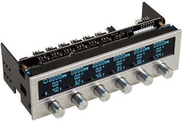 Lamptron Fan Controller FC5 V3 Silver