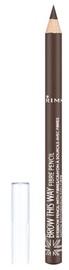 Rimmel London Brow This Way Fibre Pencil 1.1g Medium Brown