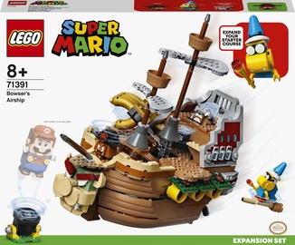 Конструктор LEGO Super Mario Дополнительный набор «Летучий корабль Боузера» 71391, 1152 шт.