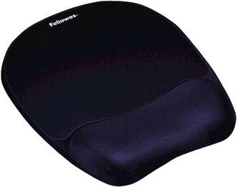 Fellowes Memory Foam Mouse Pad Wrist Rest Sapphire 9172801