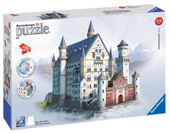 3D dėlionė Ravensburger 3D Neuschwanstein Castle, 216 dalių