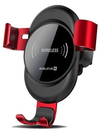 Evelatus Wireless Charger Car Holder Red WCH02