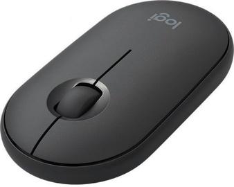 Kompiuterio pelė Logitech Pebble M350 Graphite, bevielė, optinė
