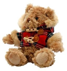 Keel Toys Hamish Bear With Tartan Coat 15 cm