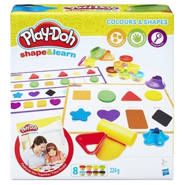 Hasbro Play-Doh Shape & Learn Colors And Shapes B3404