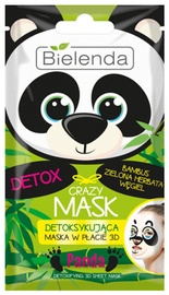 Bielenda Crazy Mask Detoxifying Sheet Mask Panda 1pcs