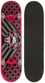 Schreuders Sport Skateboard Black Dragon Black/Red/Grey