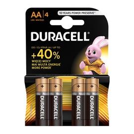 Elementai Duracell AA/LR06, 1.5 V, 4 vnt.