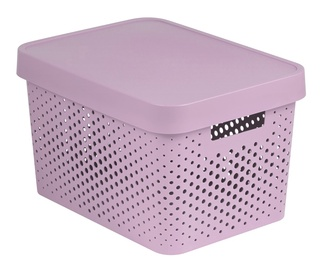 Curver Infinity Perforated Box 17l Pink