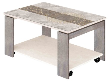 DaVita Agat 33.10 Coffee Table Kena Freska-Nevada Gray