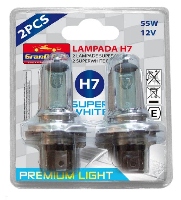 Bottari Superwhite Halogen H7 12V 55W 2pcs