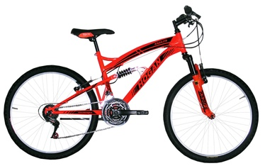 Henry Hogan MTB Full Susp 24'' Orange