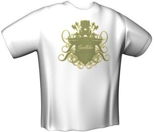 GamersWear Godlike T-Shirt White XL