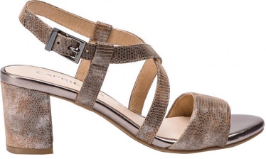 Basutės, Caprice Sandals 9/9-28300/22, Beige Reptile, 39