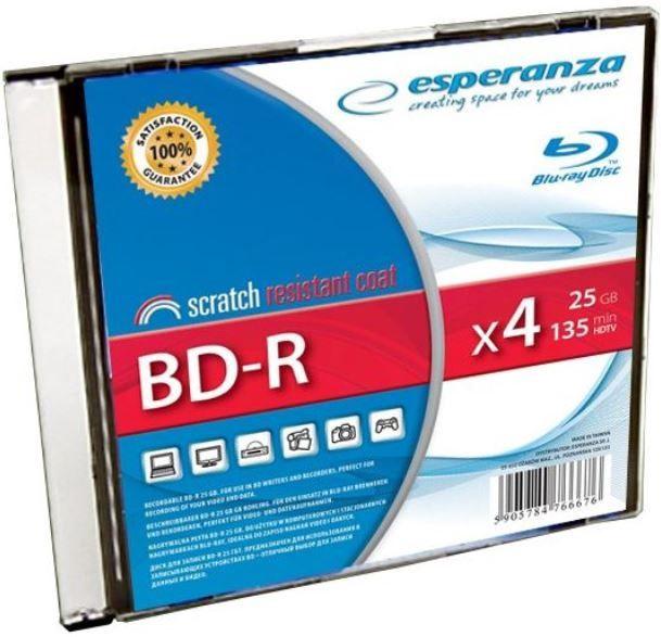 Esperanza BD-R 25GB 4x 1pcs
