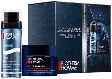 Biotherm Homme Force Supreme Cream 50ml + 50ml Foam Shaver