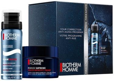 Komplekts Biotherm Homme Force Supreme Cream 50ml + 50ml Foam Shaver