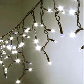 Niveda Outdoor LED 600 Christmas Lights White/White Flash 30m