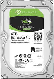 Seagate BarraCuda 4TB 7200RPM SATAIII 128MB ST4000DM006