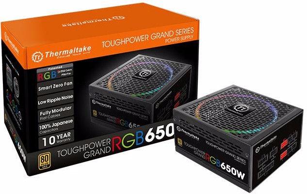 Thermaltake Toughpower Grand RGB 650W PS-TPG-0650FPCGEU-R