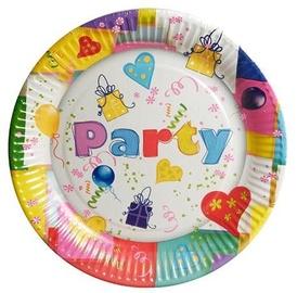 Pap Star Party Mix Paper Plates 10PCS