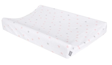 Ceba Baby Changing Mat Cover 50x70 Medium Stars Pink