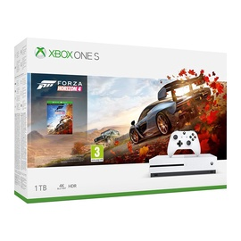 Žaidimų konsolė Microsoft Xbox One S, 1TB + Forza Horizon 4