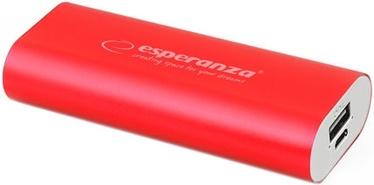 Зарядное устройство - аккумулятор Esperanza Hadron, 4400 мАч, красный
