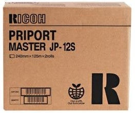Ricoh Master Priport JP 12S Toner Cartridge Black