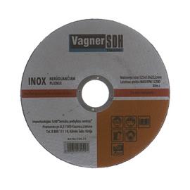 Lõikeketas Vagner 125x1.0x22.23mm, Inox