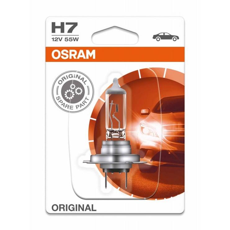 Автомобильная лампочка Osram Headlight 55W 3200K 12V H7