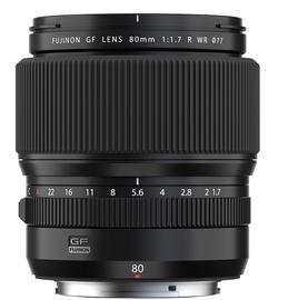 Objektiiv Fujifilm GF 80MM F1.7 R WR, 795 g