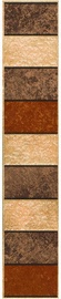 Kwadro Ceramika Rufus Tile Border 7.7x40cm Brown
