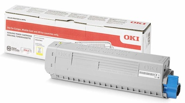 OKI Toner for C824 834 844 Yellow 10000p 46861305