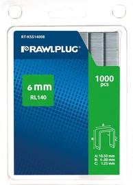 Rawlplug Staples RL140 6mm