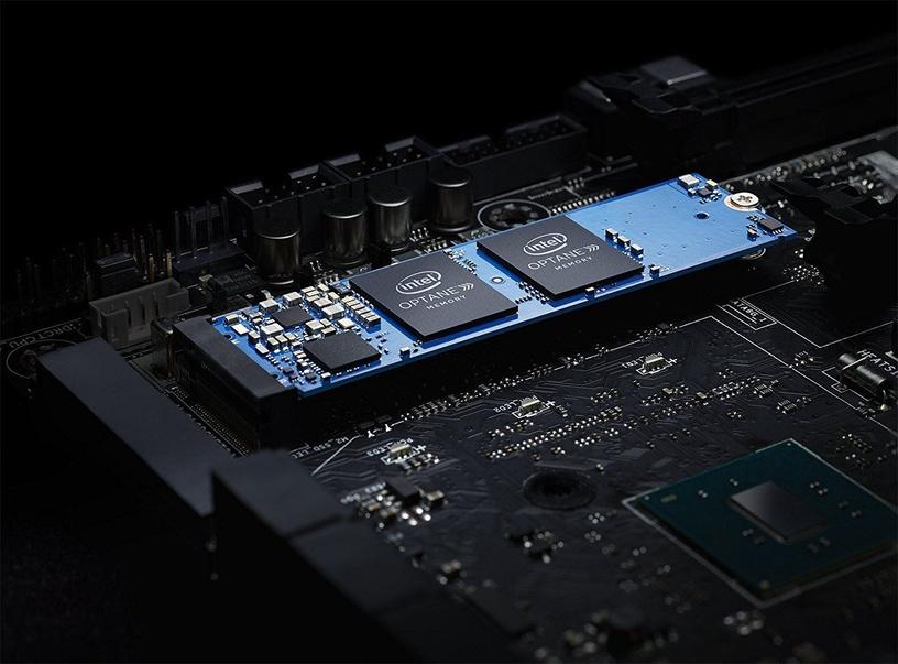 Intel Optane Memory PCIE M.2 H10 32GB + 1TB Solid State Drive