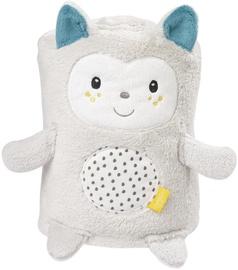 Sega BabyFehn Cuddleblanket Cat 57232, balta, 75x100 cm