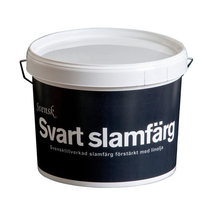 Värv Svensk rödfärg Emulsion Paint 10l Black