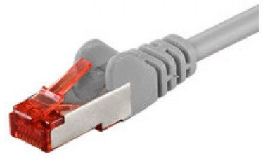 Goobay Patch Cable CAT6 S/FTP Grey 25m