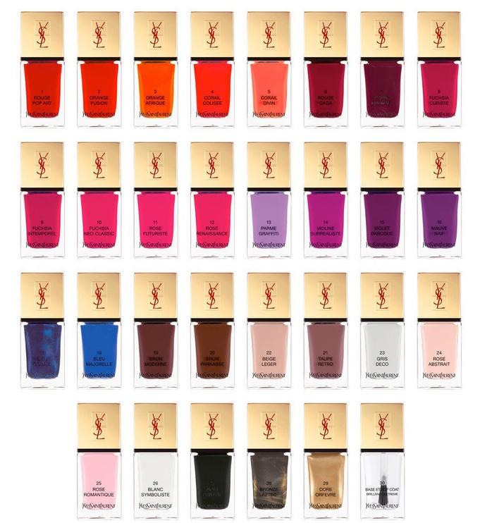 Yves Saint Laurent La Laque Couture Nail Lacquer 10ml 102