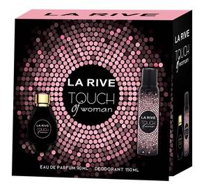 Набор для женщин La Rive Touch Of Woman 90 ml EDP + Deodorant Spray 150 ml